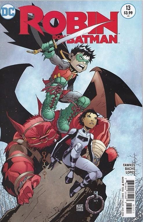 Couverture de Robin: Son of Batman (2015) -13- It Never Ends