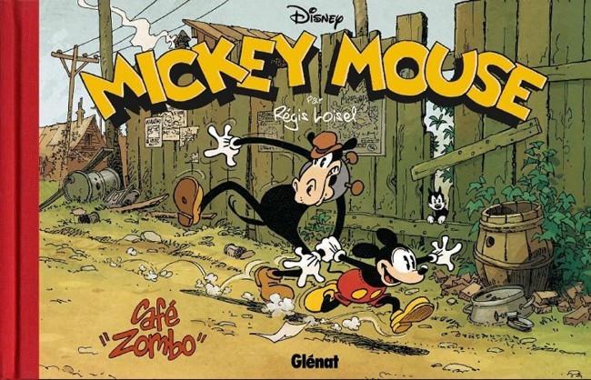 Couverture de Mickey (collection Disney / Glénat) - Café