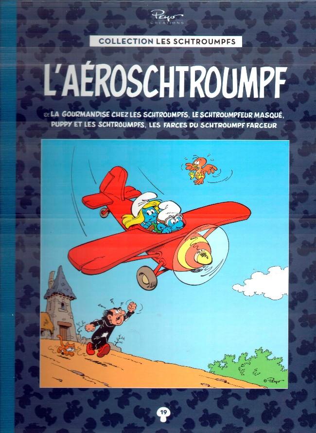 Couverture de Les schtroumpfs - La collection (Hachette) -19- L'aéroschtroumpf