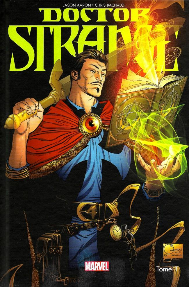 Couverture de Doctor Strange -1- Les Voies de l'étrange