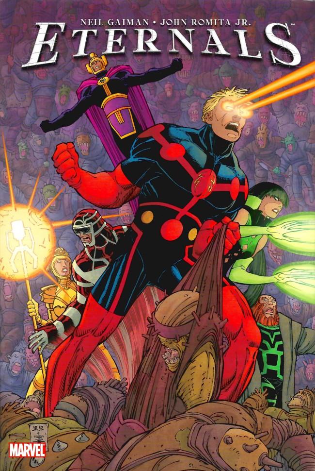 Couverture de Eternals Vol.3 (Marvel comics - 2006) -INT- Eternals