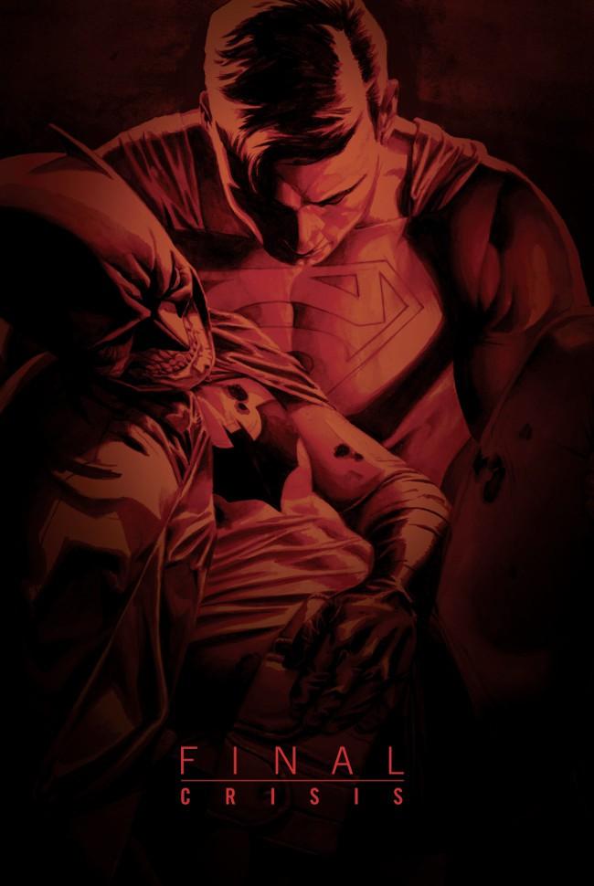 Couverture de Final Crisis (2008) -INT- Final Crisis