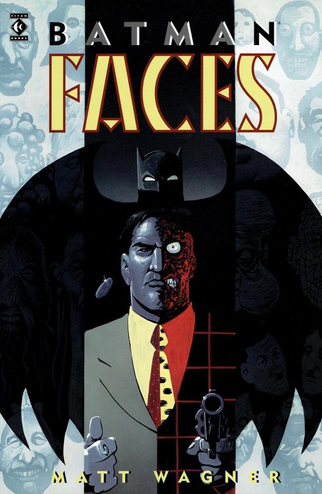 Couverture de Batman: Legends of the Dark Knight (1989) -INTa- Batman: Faces