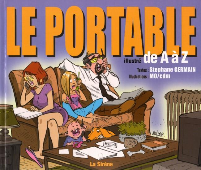 Couverture de Illustré (Le Petit) (La Sirène / Soleil Productions / Elcy) - Le Portable illustré de A à Z