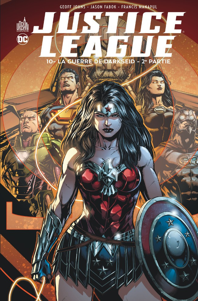 Couverture de Justice League (DC Renaissance) -10- La Guerre de Darkseid - 2e partie