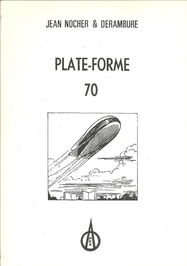 Couverture de Plate-Forme 70