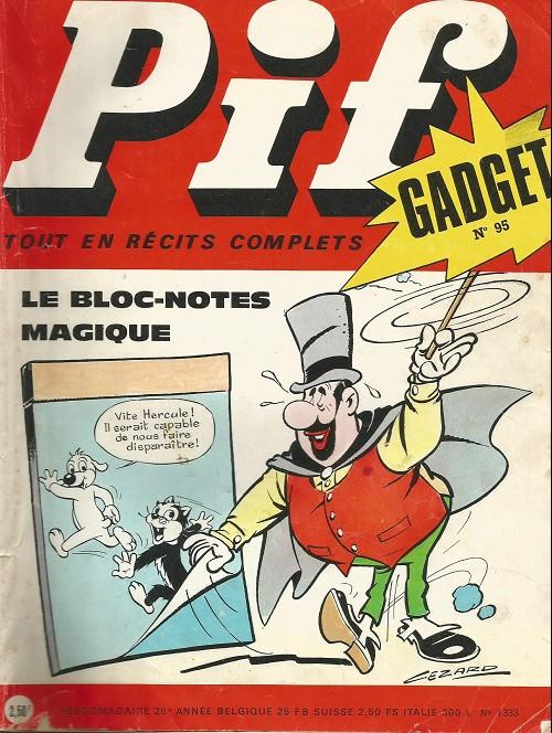 Couverture de Pif (Gadget) -95- Spéléologue