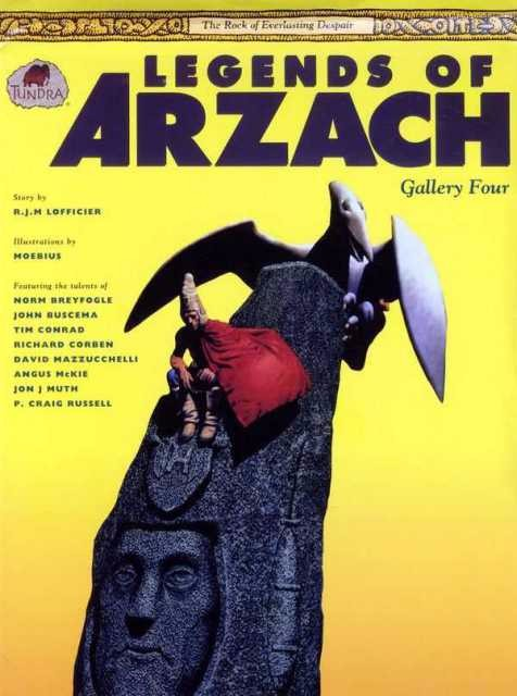 Couverture de Legends of Arzach (1992) -4- The Rock of Everlasting Despair