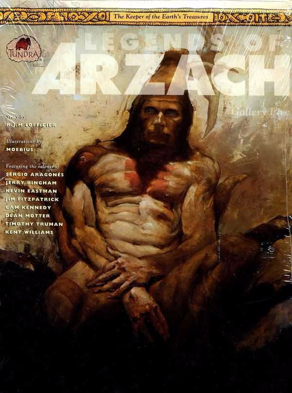 Couverture de Legends of Arzach (1992) -5- The Keeper of the Earth's Treasures