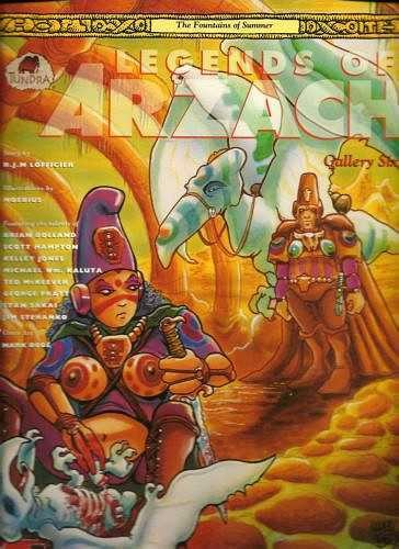Couverture de Legends of Arzach (1992) -6- The Fountains of Summer