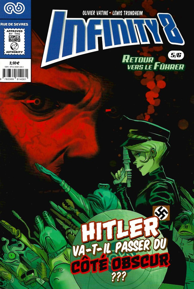 Couverture de Infinity 8 -5- Retour vers le Führer 5/6