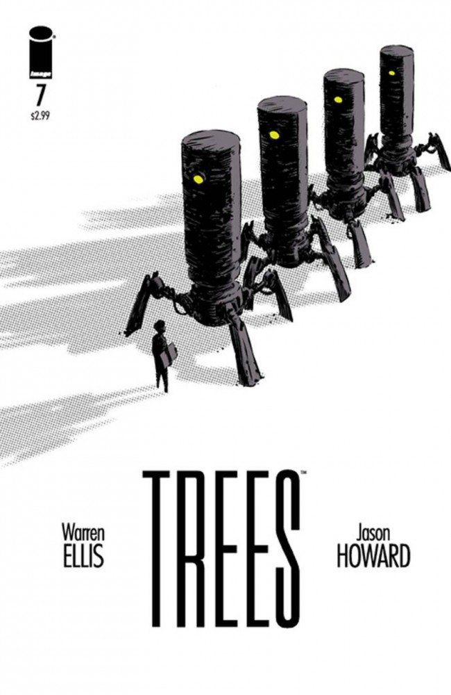 Couverture de Trees (2014) -7- All Things Are Numbers