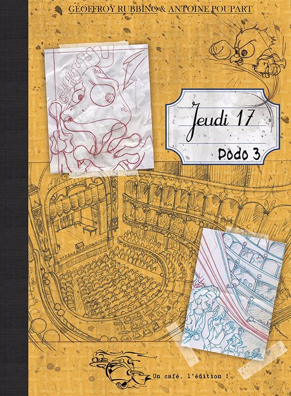 Couverture de Jeudi 17 -3- Jeudi 17 - Dodo 3