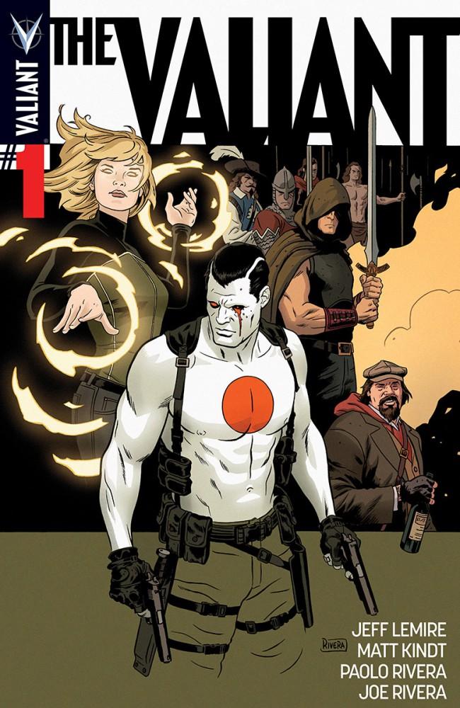 Couverture de The valiant (Valiant comics - 2014) -1- Book One