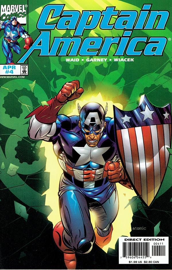 Couverture de Captain America (1998) -4- Capmania