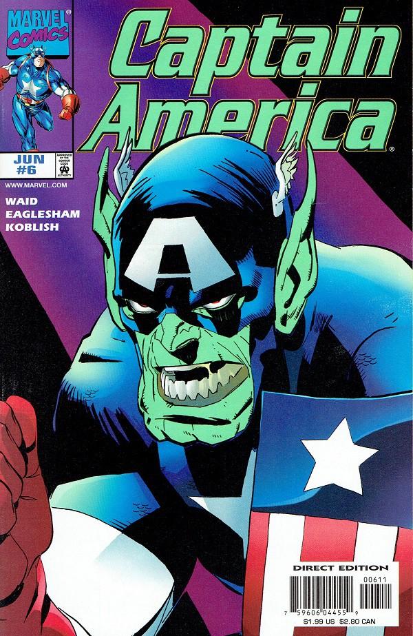 Couverture de Captain America (1998) -6- Power and Glory 2 : Exposé