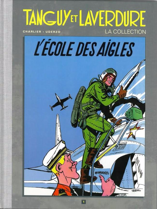 Couverture de Tanguy et Laverdure - La Collection (Hachette) -1- L'École des Aigles
