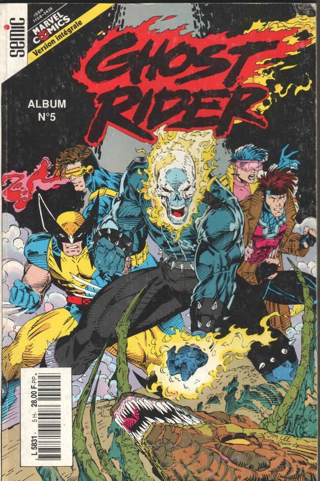 Couverture de Ghost Rider (Semic) -Rec05- Album N°5 (du n°13 au n°15)