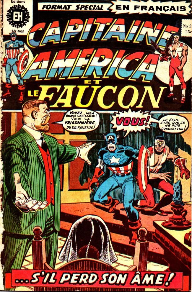 Couverture de Capitaine America (Éditions Héritage) -21- ... S'il perd son âme!