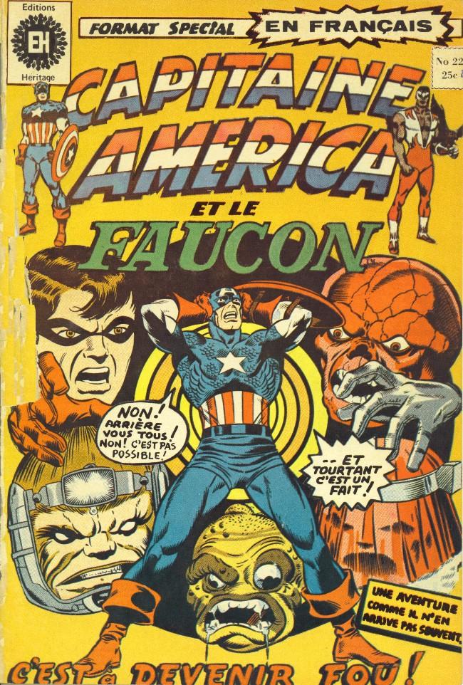 Couverture de Capitaine America (Éditions Héritage) -22- C'est à devenir fou!