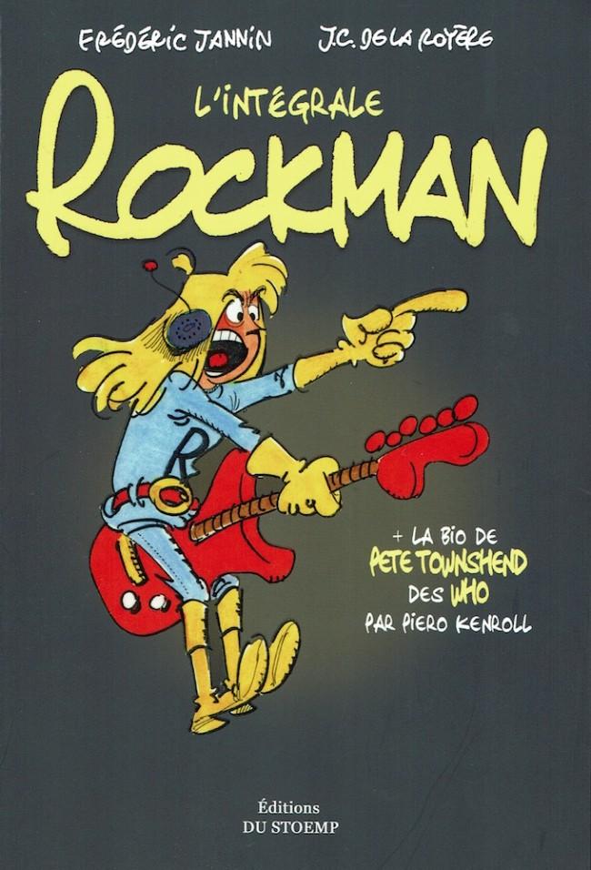 Couverture de Rockman (Les aventures de) - L'Intégrale de Rockman