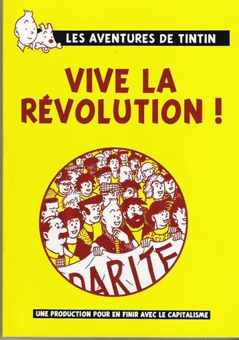 Couverture de Tintin - Pastiches, parodies & pirates - Vive la Révolution !