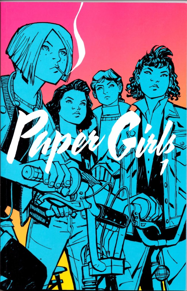 Couverture de Paper Girls (Image comics - 2015) -INT01- Paper Girls 1
