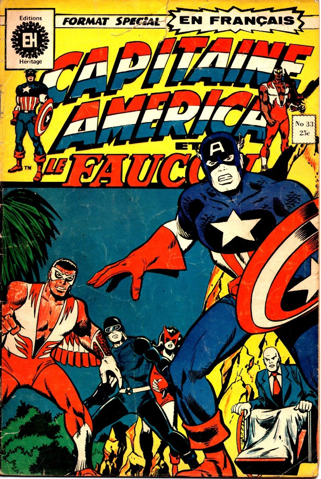 Couverture de Capitaine America (Éditions Héritage) -33- Les péchés de l'Empire secret!