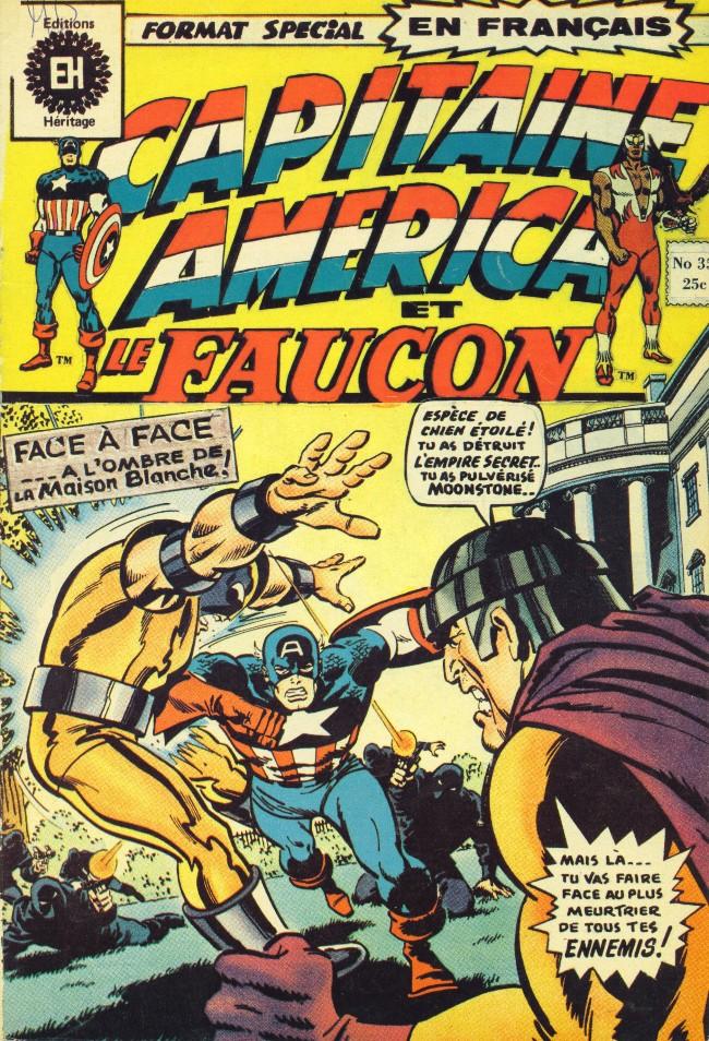 Couverture de Capitaine America (Éditions Héritage) -35- ... Avant l'aube!