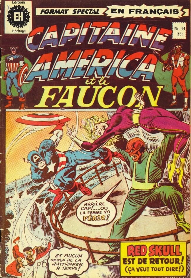 Couverture de Capitaine America (Éditions Héritage) -44- Retour de Cap!