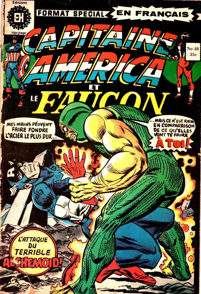 Couverture de Capitaine America (Éditions Héritage) -48- Guerre de druides !