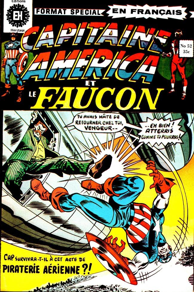 Couverture de Capitaine America (Éditions Héritage) -52- Vol d'enfer!