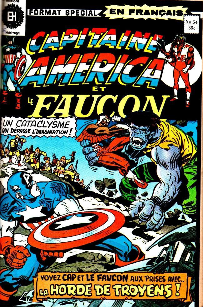 Couverture de Capitaine America (Éditions Héritage) -54- La horde de Troie
