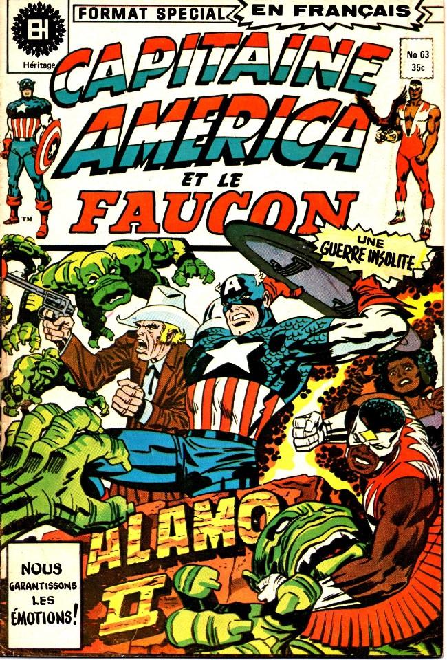 Couverture de Capitaine America (Éditions Héritage) -63- Alamo II !