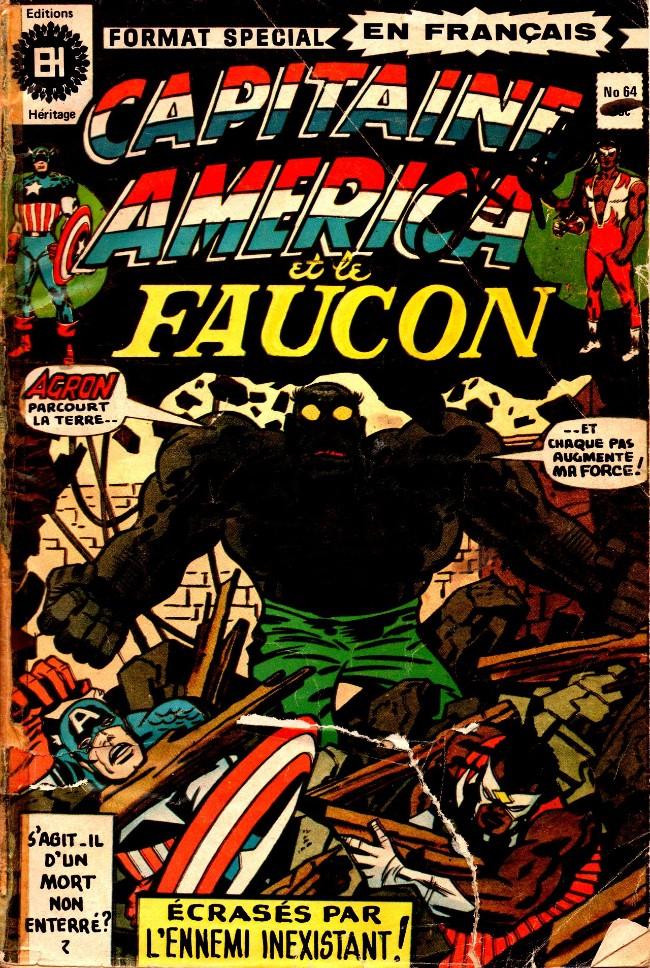 Couverture de Capitaine America (Éditions Héritage) -64- Non-enterré!