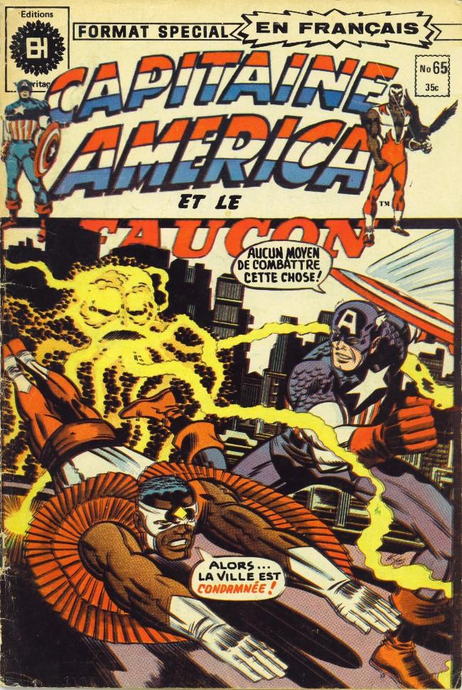 Couverture de Capitaine America (Éditions Héritage) -65- Agron s'avance sur la Terre!