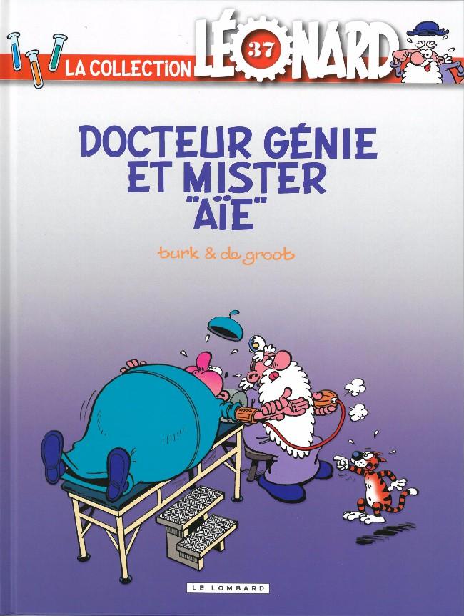 Couverture de Léonard - La Collection (Prisma Media) -3734- Docteur génie et Mister