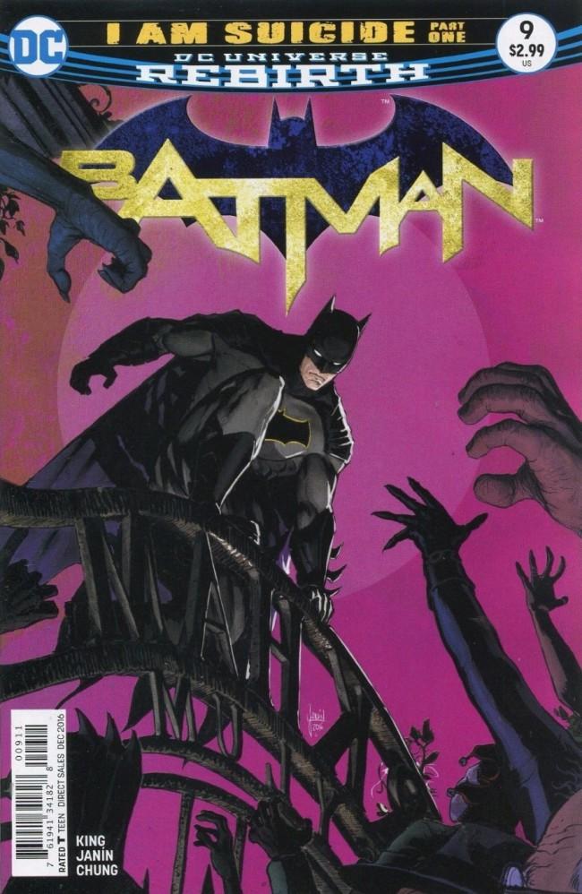 Couverture de Batman (DC Comics - 2016) -9- I am Suicide, Part One