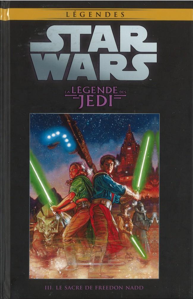 Couverture de Star Wars - Légendes - La Collection (Hachette) -266- La Légende des Jedi - III. Le Sacre de Freedon Nadd