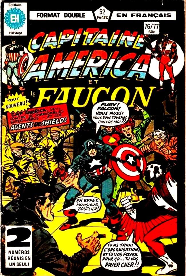 Couverture de Capitaine America (Éditions Héritage) -7677- En quête de Steve Rogers!