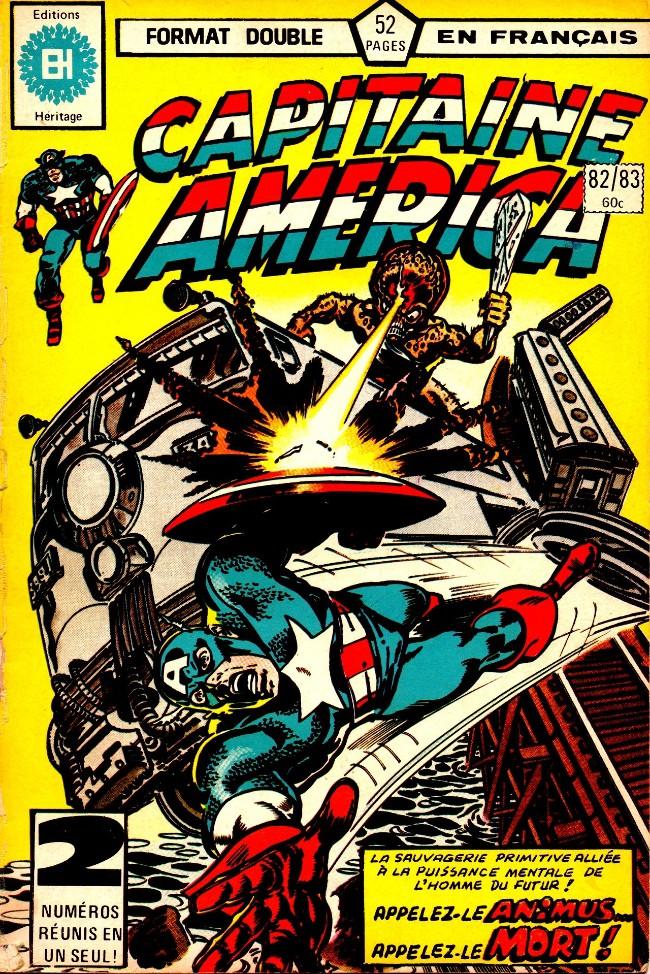 Couverture de Capitaine America (Éditions Héritage) -8283- Appelle-moi Animus, Capitaine America!