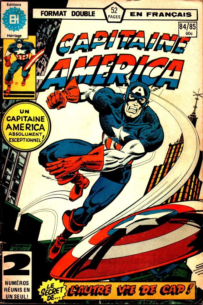 Couverture de Capitaine America (Éditions Héritage) -8485- Dévastation!