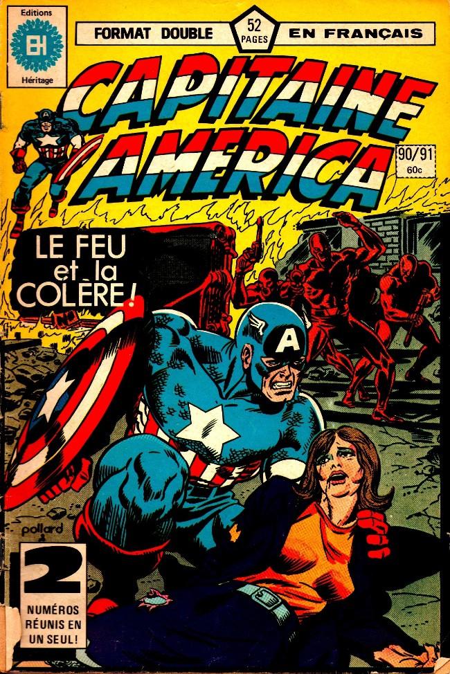 Couverture de Capitaine America (Éditions Héritage) -9091- La suite