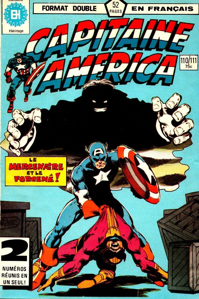 Couverture de Capitaine America (Éditions Héritage) -110111- Le mercenaire et le dément!