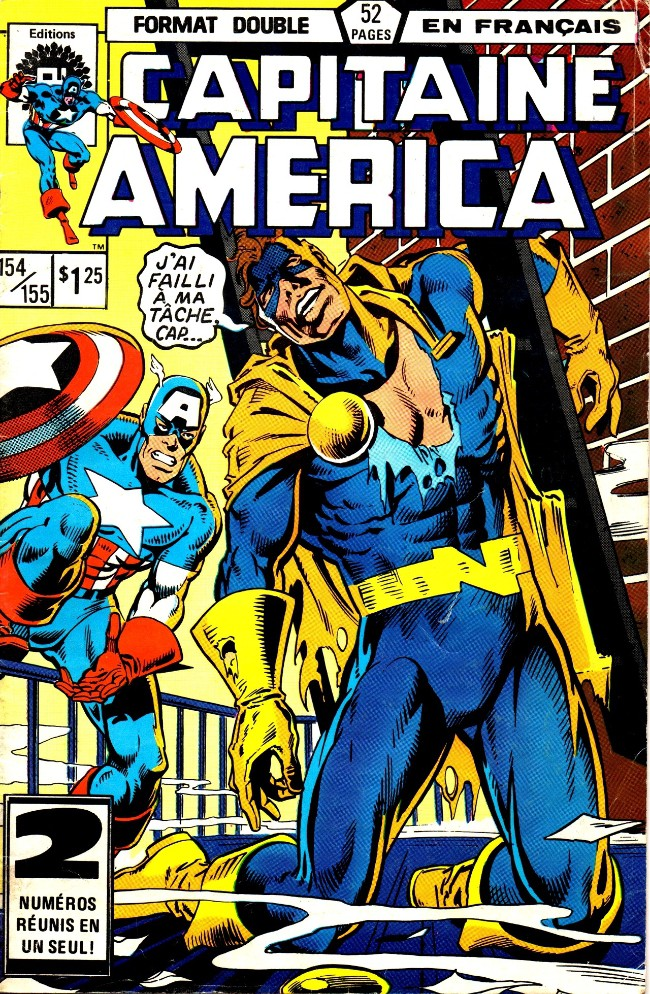 Capitaine america ditions h ritage bd informations - Capitaine americain ...