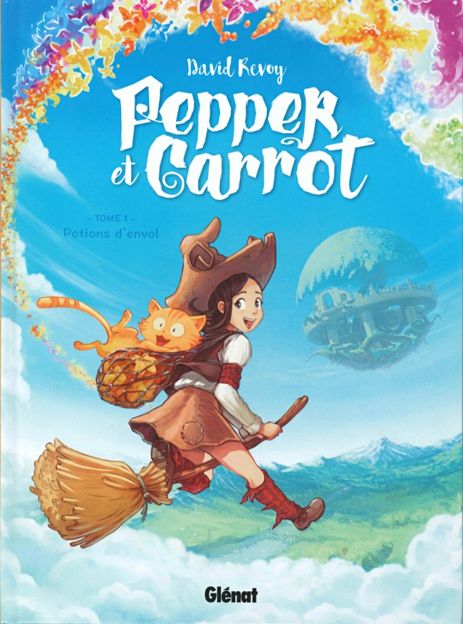 Couverture de Pepper et Carrot -1- Potions d'envol