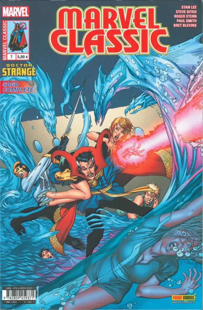 Couverture de Marvel Classic (2e série) -7- Les origines du Dr Strange