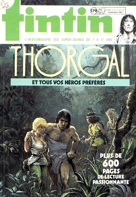 Couverture de (Recueil) Tintin (Album du journal - Édition belge) -179- Tome 179