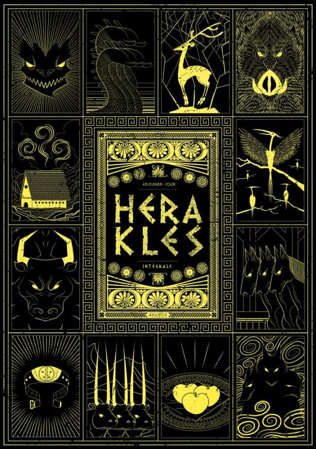 Couverture de Herakles - Tome INT