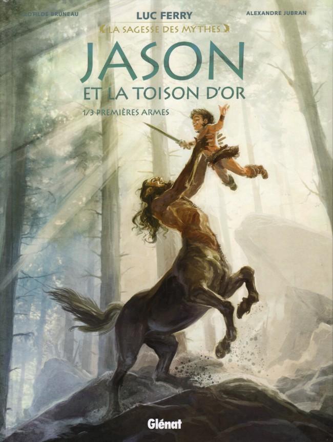 Couverture de Jason et la Toison d'Or -1- Premières armes